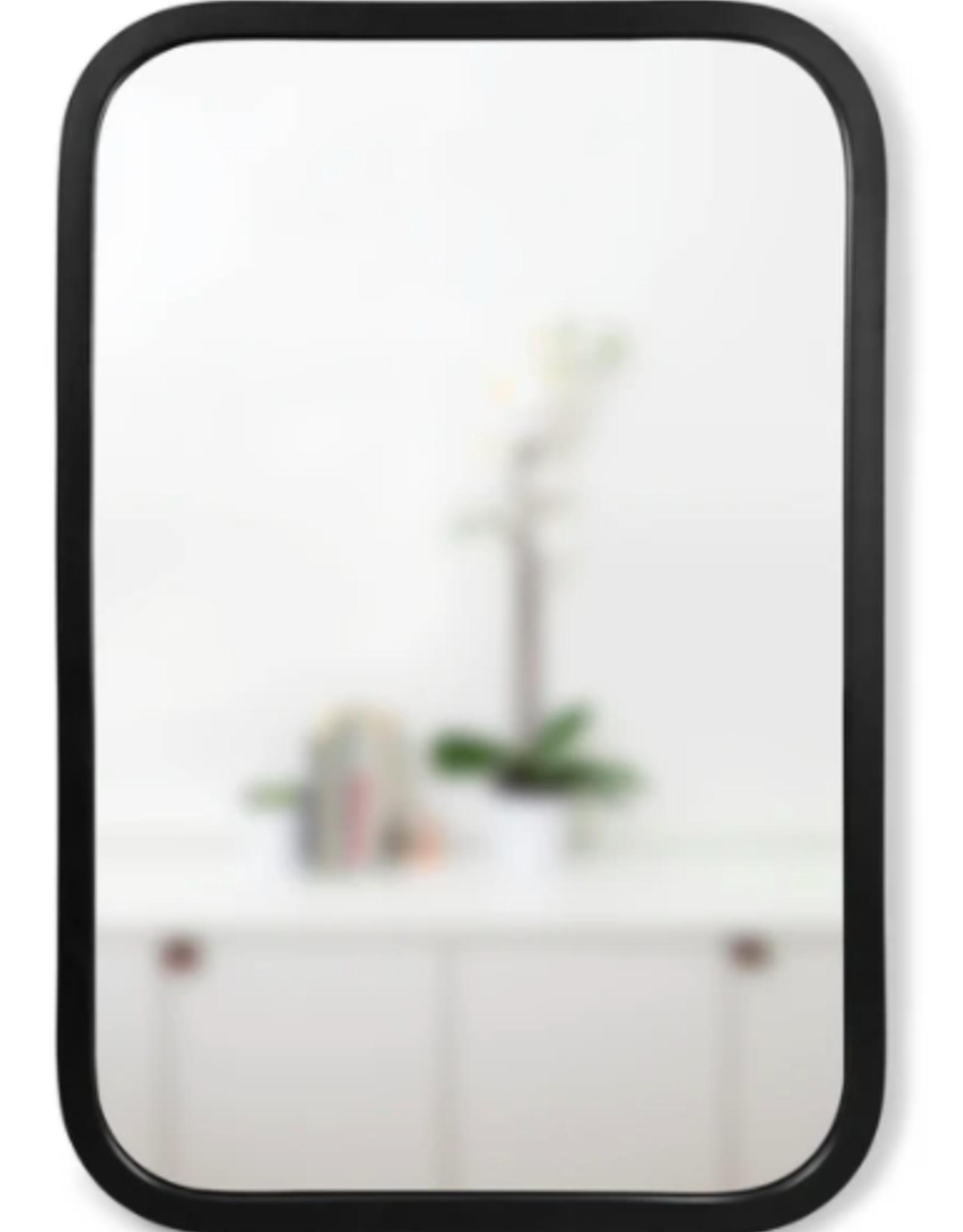 Umbra Umbra Hub Rectangle Mirror Black
