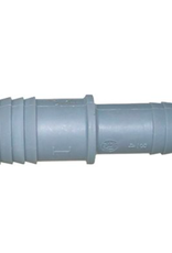 """3/4"""" x 1/2"""" Poly Insert Coupling"""