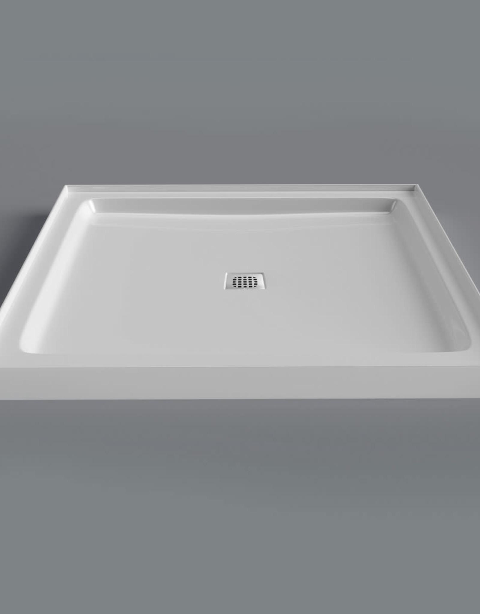 Mirolin Mirolin Strada Alcove Shower Base Acrylic White