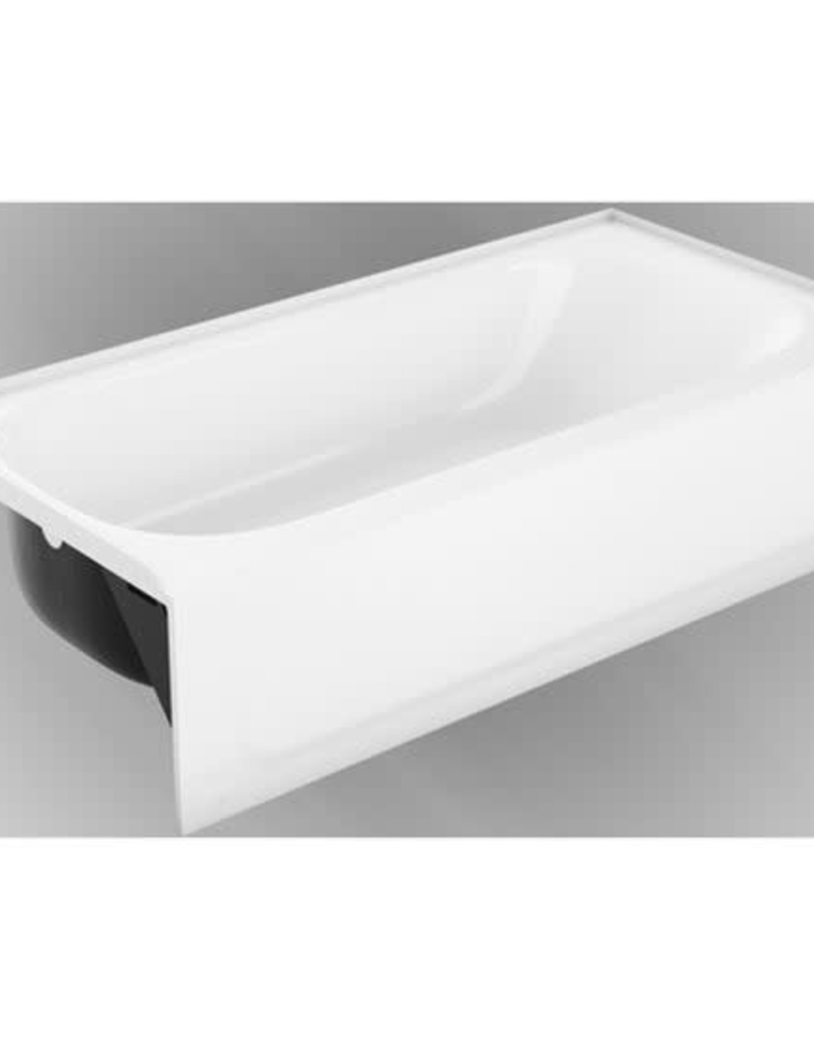 """ProFlow 60"""" x 30"""" Steel Tub White LD"""