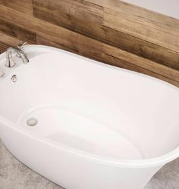 "Maax Maax Ariosa 60""x32"" Freestanding Tub White"