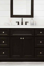 "Stonewood Classic 60"" Single Bowl Vanity, Top and Sink"