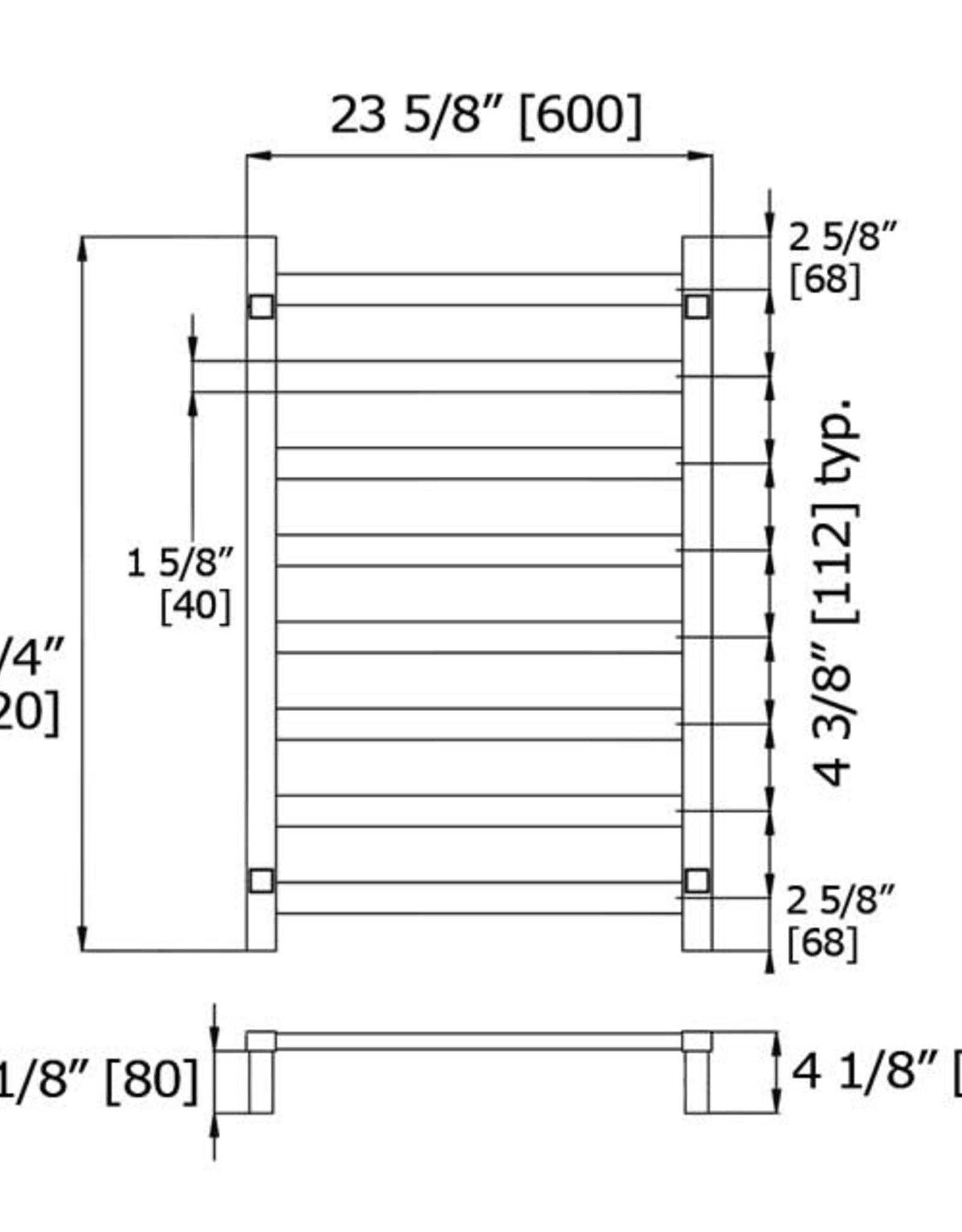 LalOO Laloo Multi-function 10-Bar Towel Warmer