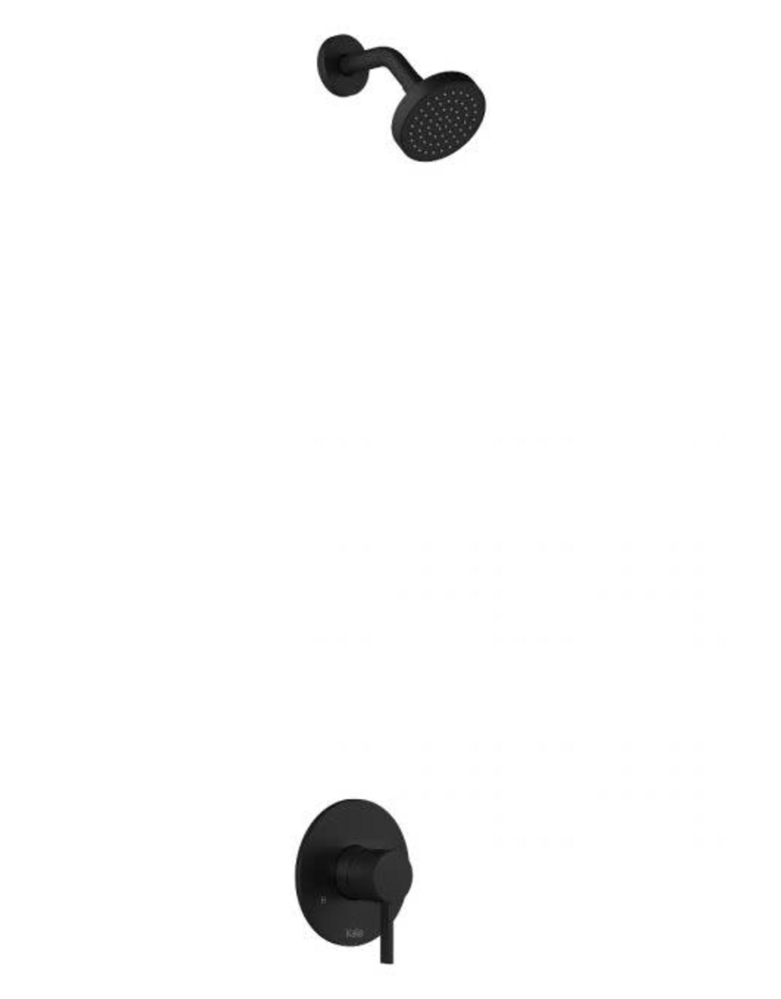 Kalia Kalia Basico PB5- Shower Head- Matte Black