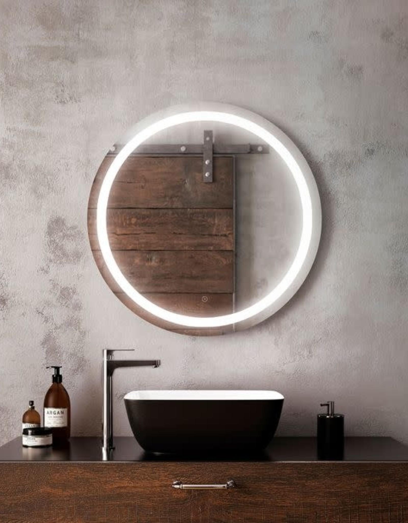 """Kalia Kalia Effect Collection Round LED Mirror 30"""""""