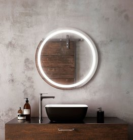 Kalia Kalia Effect Collection Round LED Mirror 30""