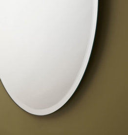 LalOO Laloo Classic Bevelled  Oval Mirror