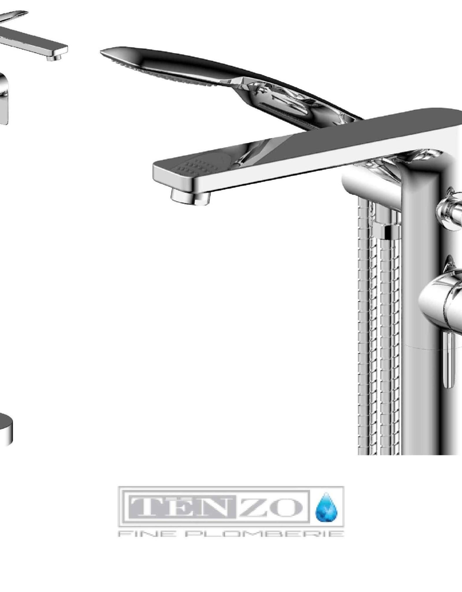 Tenzo Tenzo Delano Freestanding Tub Filler