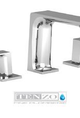 """Tenzo Tenzo Slik 8"""" Lav Faucet Chrome"""