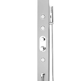 Tenzo Tenzo Evolo Shower Tower Brushed Stainless