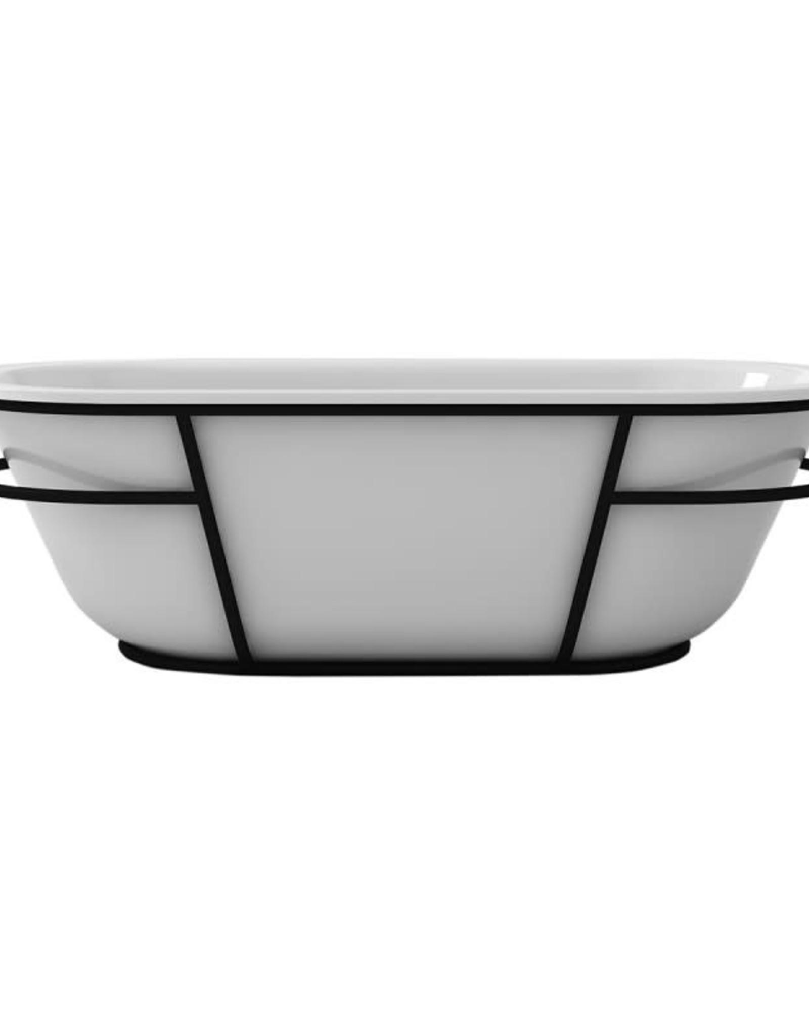"""Bain Signature Bain Signature Pearl 71"""" Freestanding Tub"""