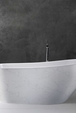 "Bain Signature Bain Signature Mira 67"" Freestanding Tub- Marble"