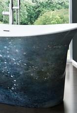 "Bain Signature Bain Signature Vivian 66"" Freestanding Tub- Paint Splatter"