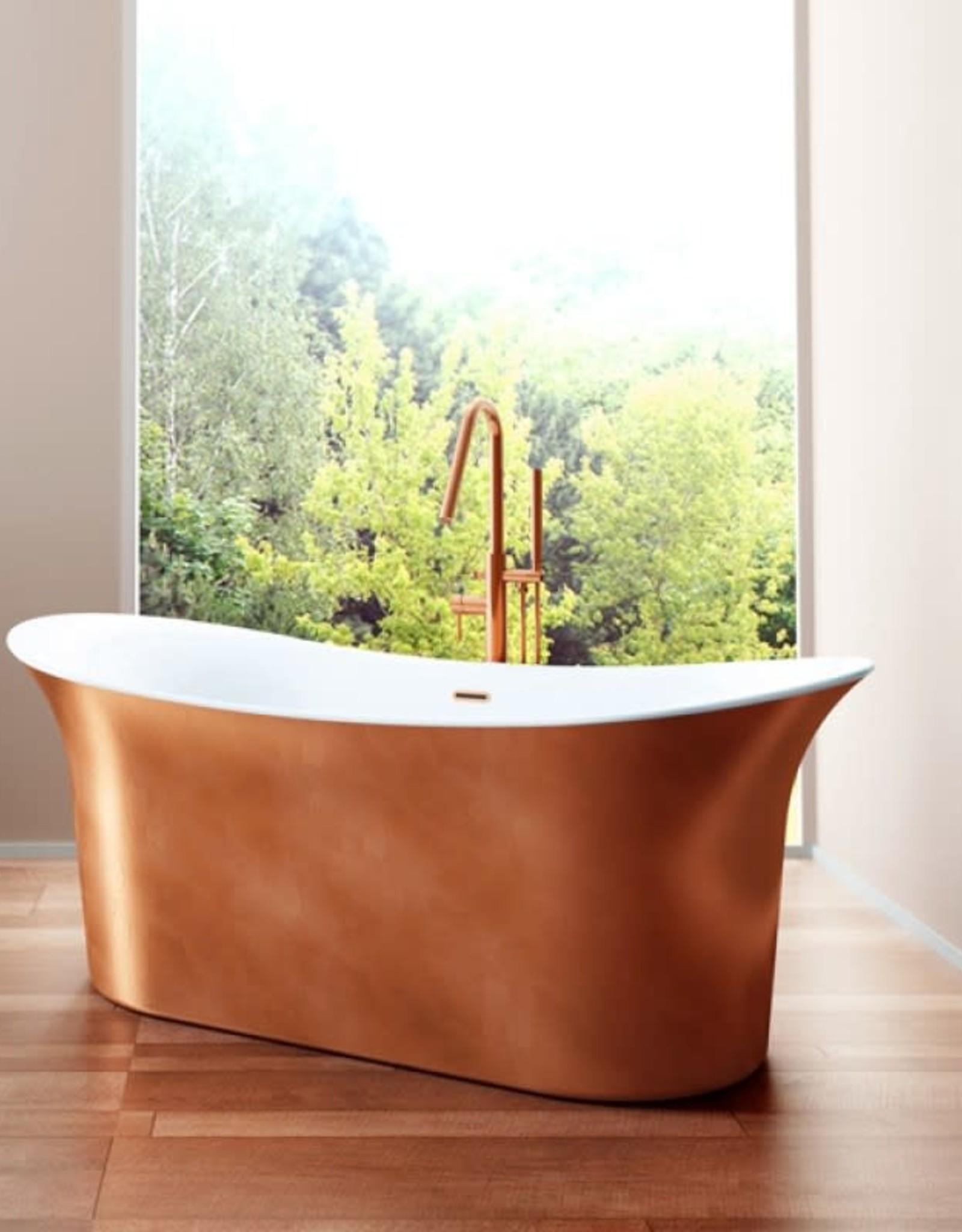 "Bain Signature Bain Signature Vivian 66"" Freestanding Tub- Copper"