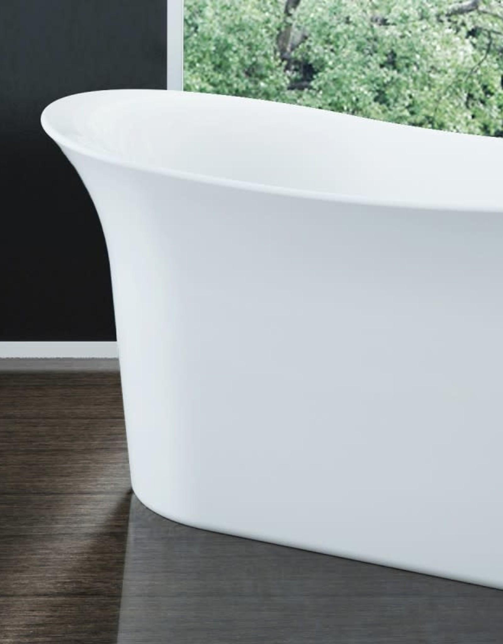 "Bain Signature Bain Signature Vivian 66"" Freestanding Tub- White"