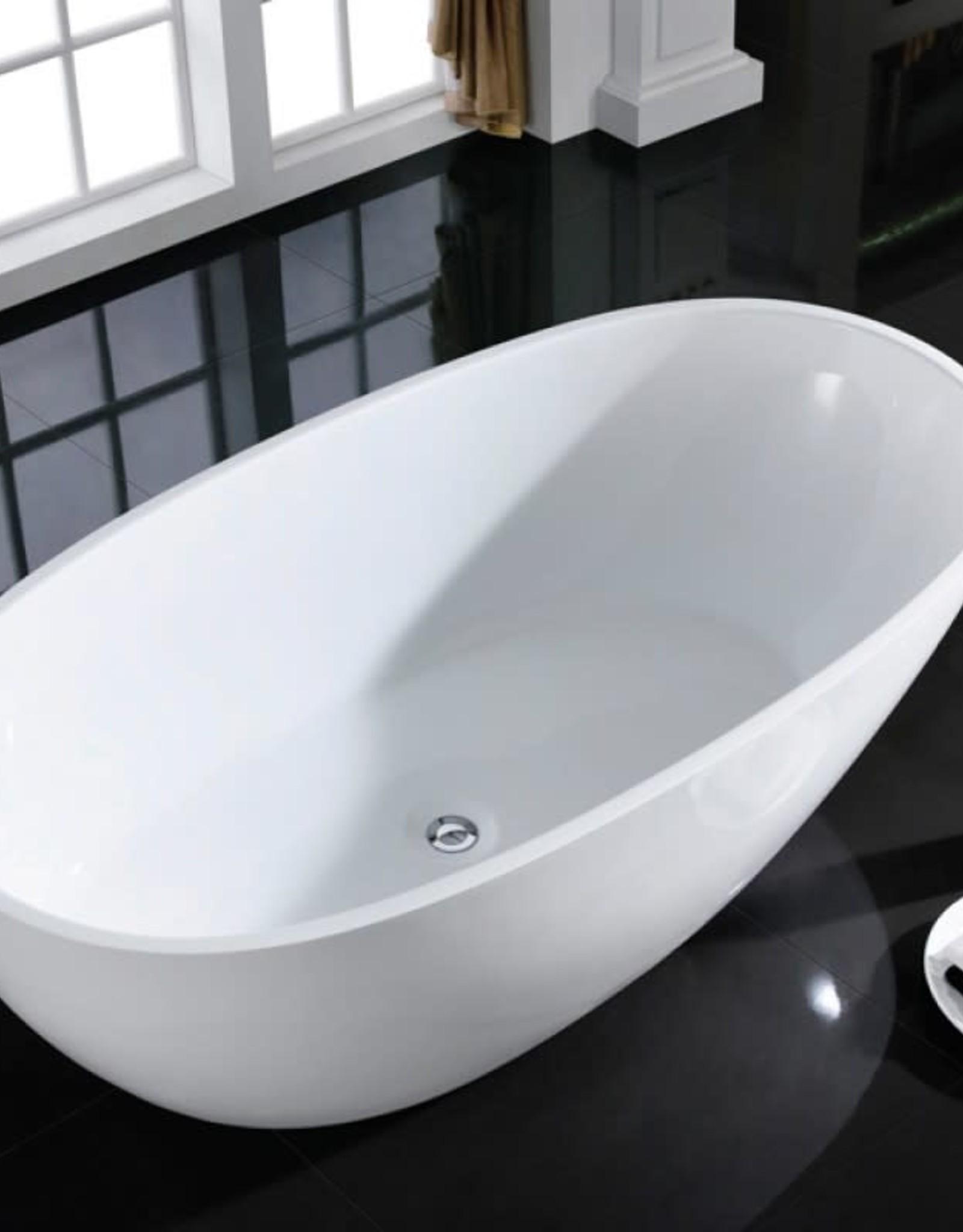 "Bain Signature Bain Signature Dove 67"" Freestanding Tub- White"