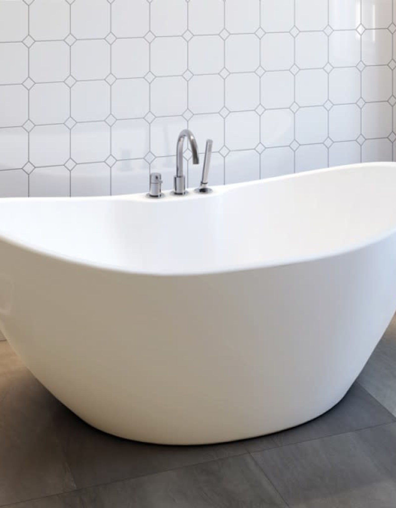 "Bain Signature Bain Signature Stephanie 69"" Freestanding Tub"