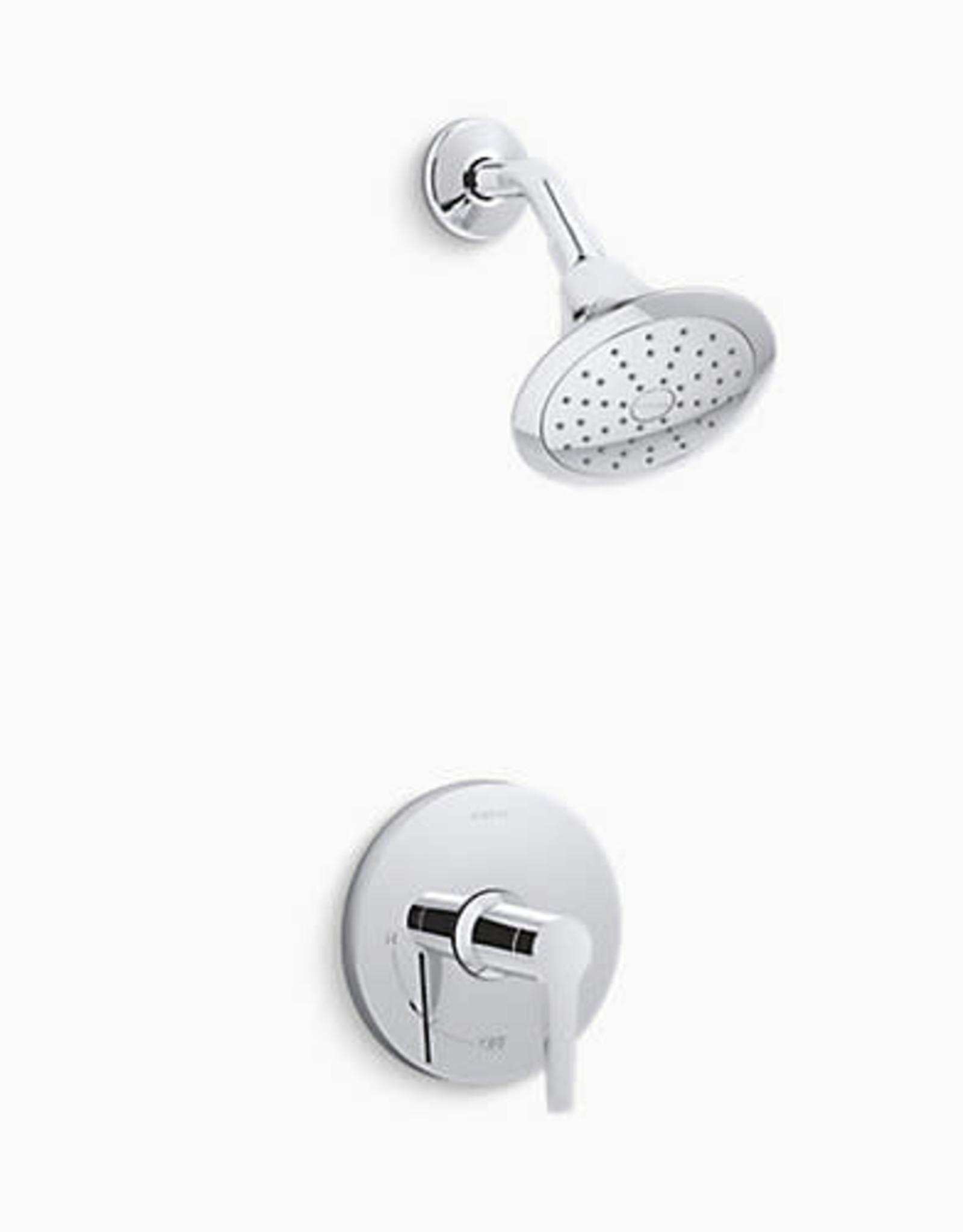 Kohler Kohler Pitch Rite-Temp Shower Only Trim Chrome
