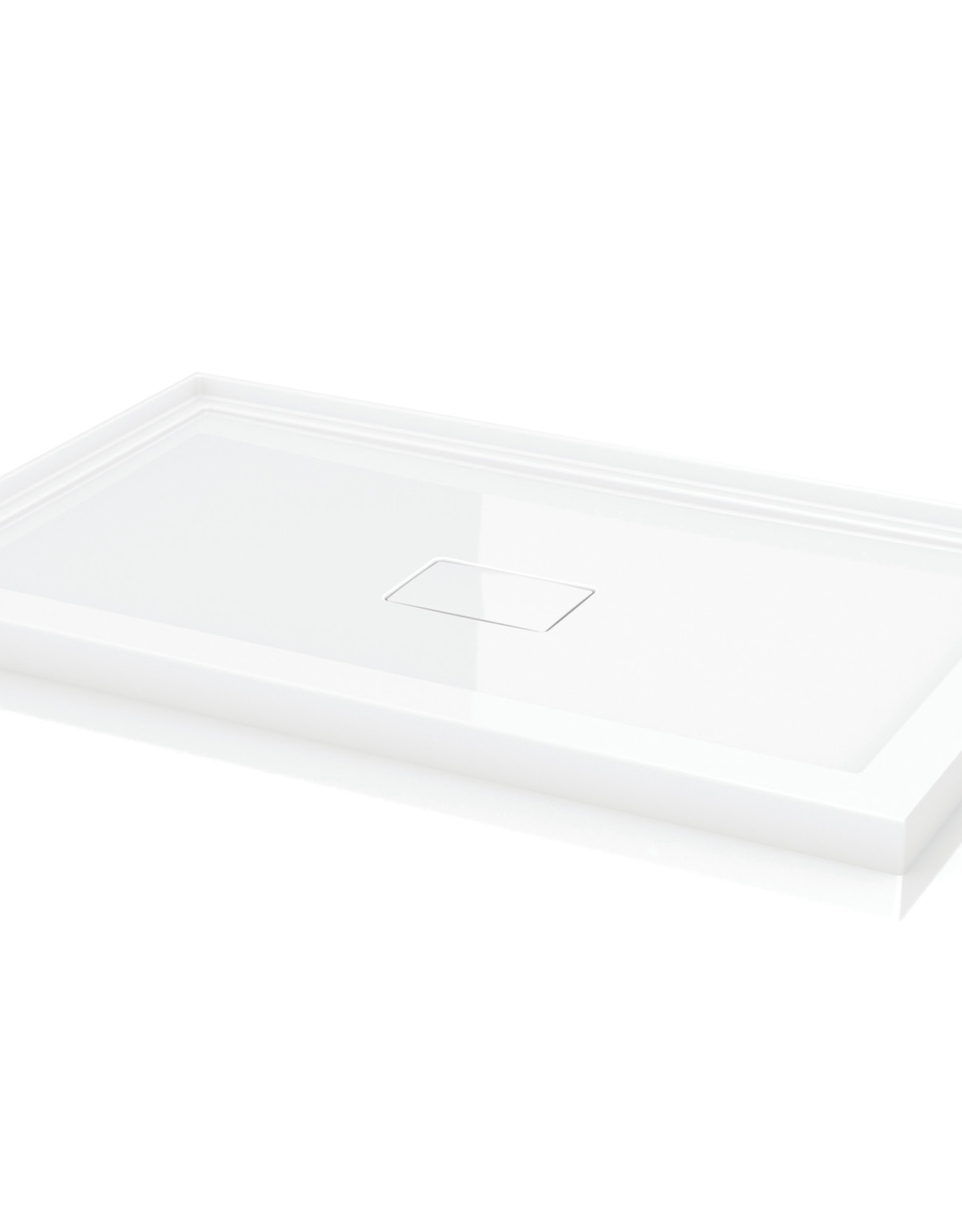 "Fleurco Fleurco 48""x42"" Shower Base Corner Acrylic White"