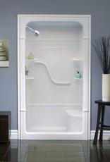 Mirolin Mirolin Madison 4 Multi-Piece Shower Unit Left Plumbing /Right Seat White
