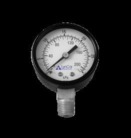 Lyncar 160 PSI Pressure Gauge