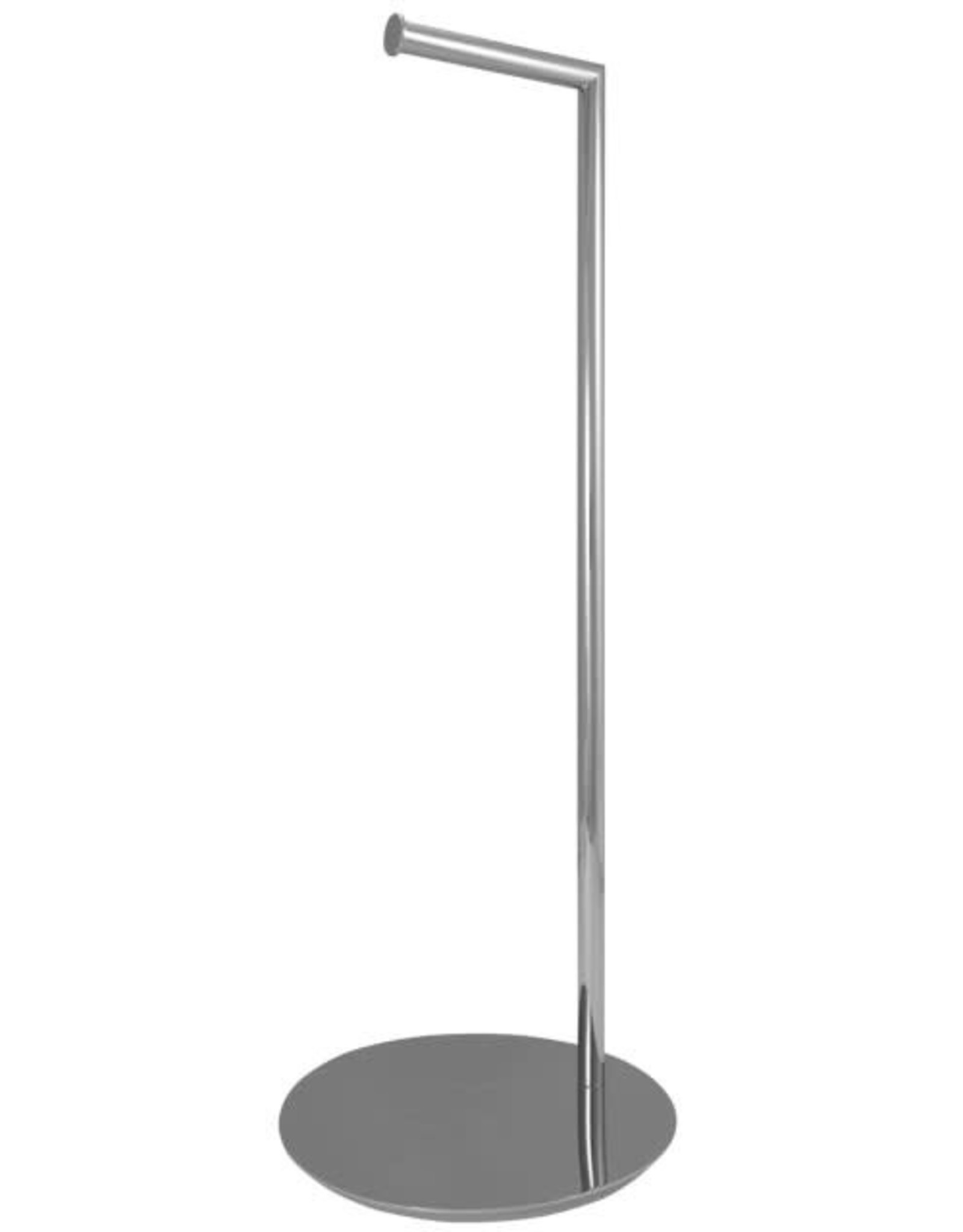 LalOO Laloo Floor Stand Paper Holder- Chrome