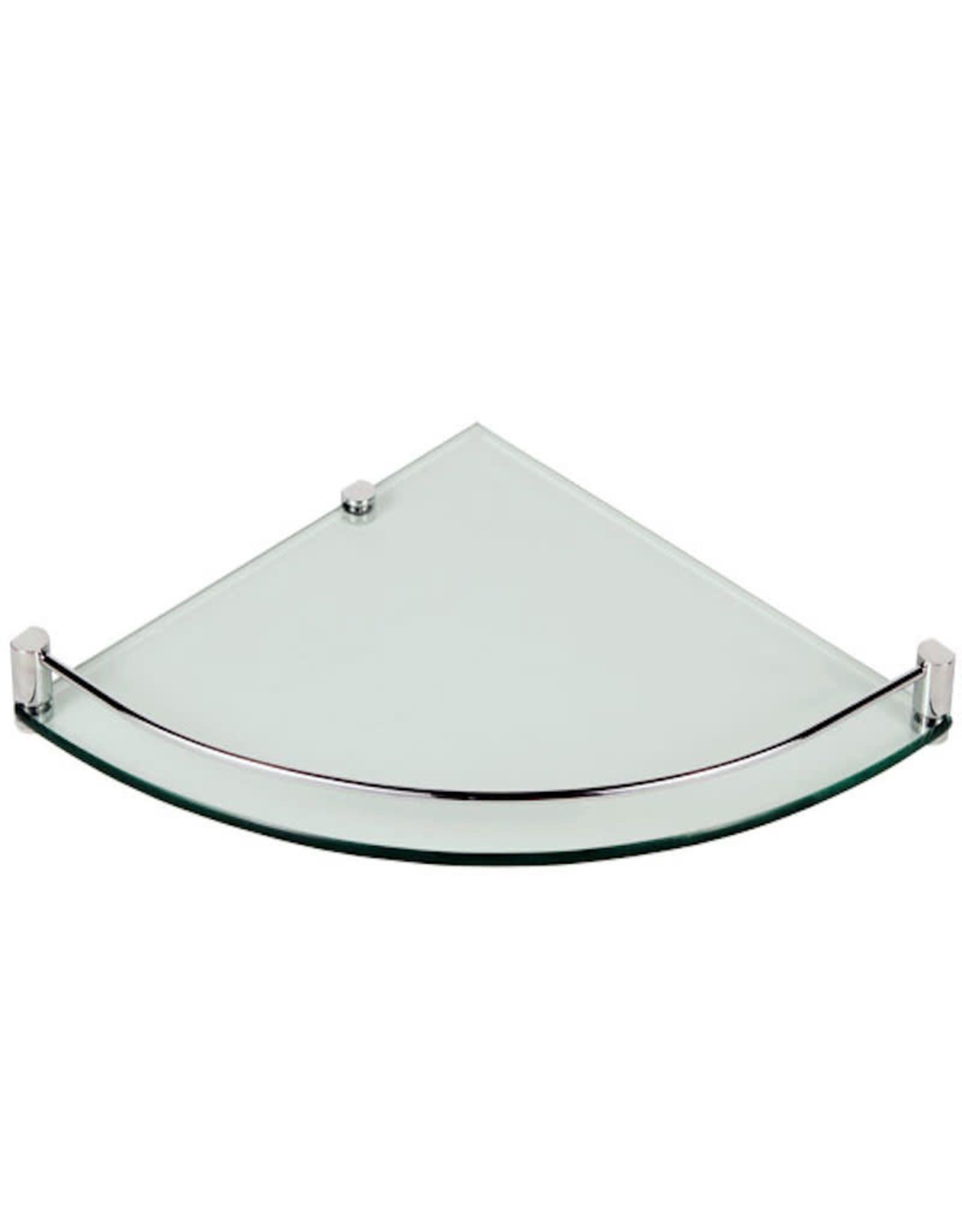LalOO Laloo Corner Glass Shelf