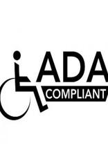 "LalOO Laloo 20⅛ "" ADA Straight Safety Bar"