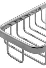 LalOO Laloo Rectangle Wire Corner Basket