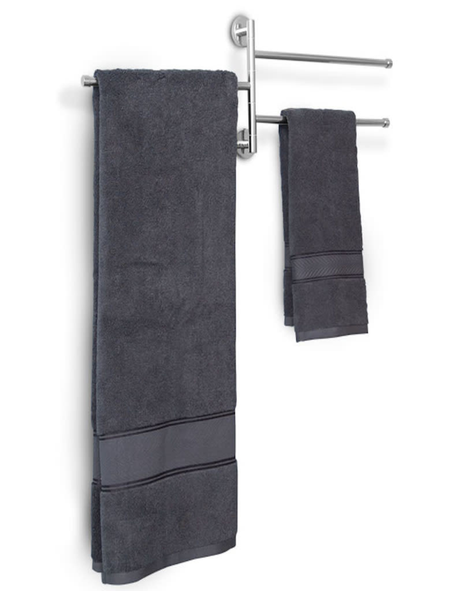 LalOO Laloo Triple Swing Towel Bar