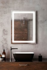 "Kalia Kalia Effect Rectangle LED Mirror 32""x24"""