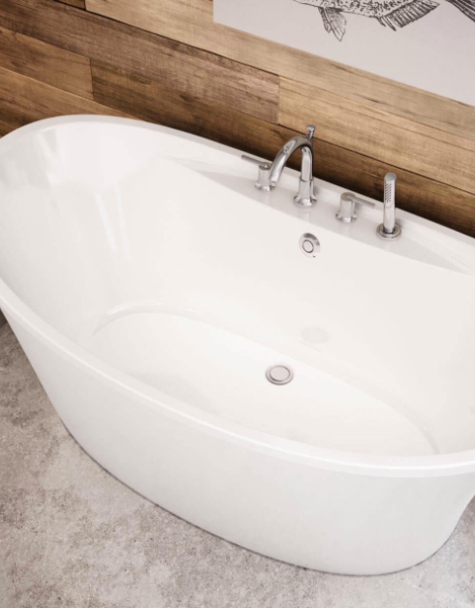 "Maax Maax Ariosa Freestanding Tub 66""x 36"" White"