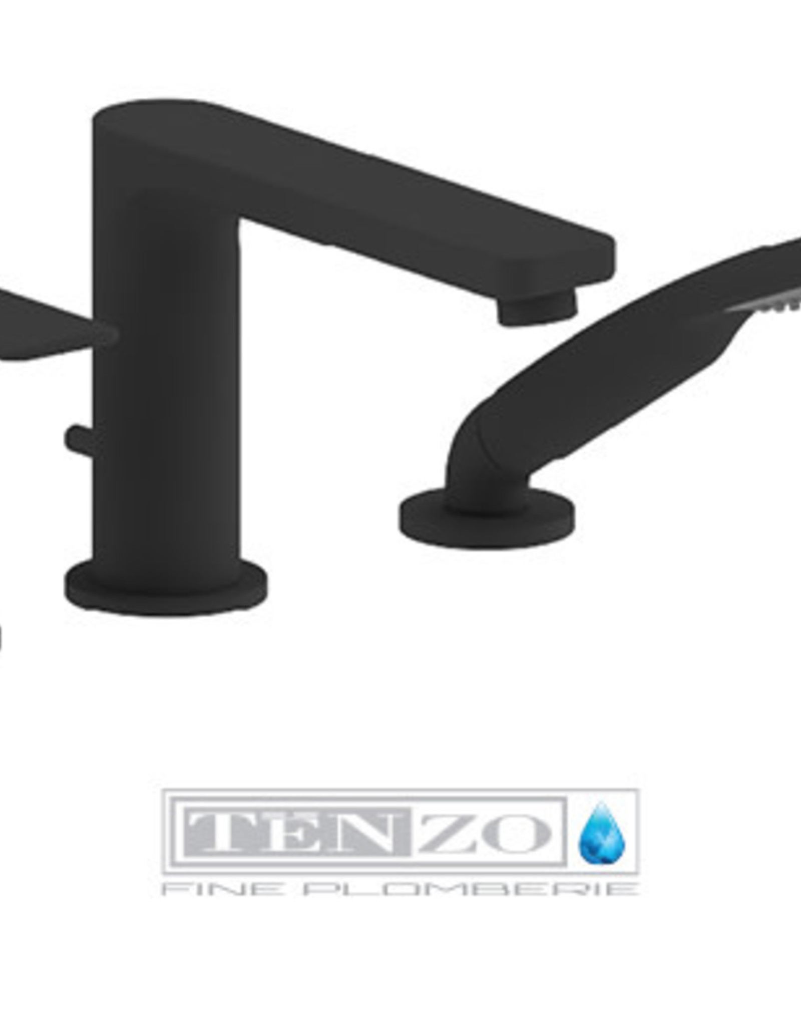 Tenzo Tenzo Delano 3pc Tub Filler
