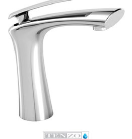 Tenzo Tenzo Fluvia Single Handle Chrome Lav Faucet