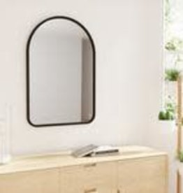 "Umbra Umbra Hub Arched Mirror 24""x36"""