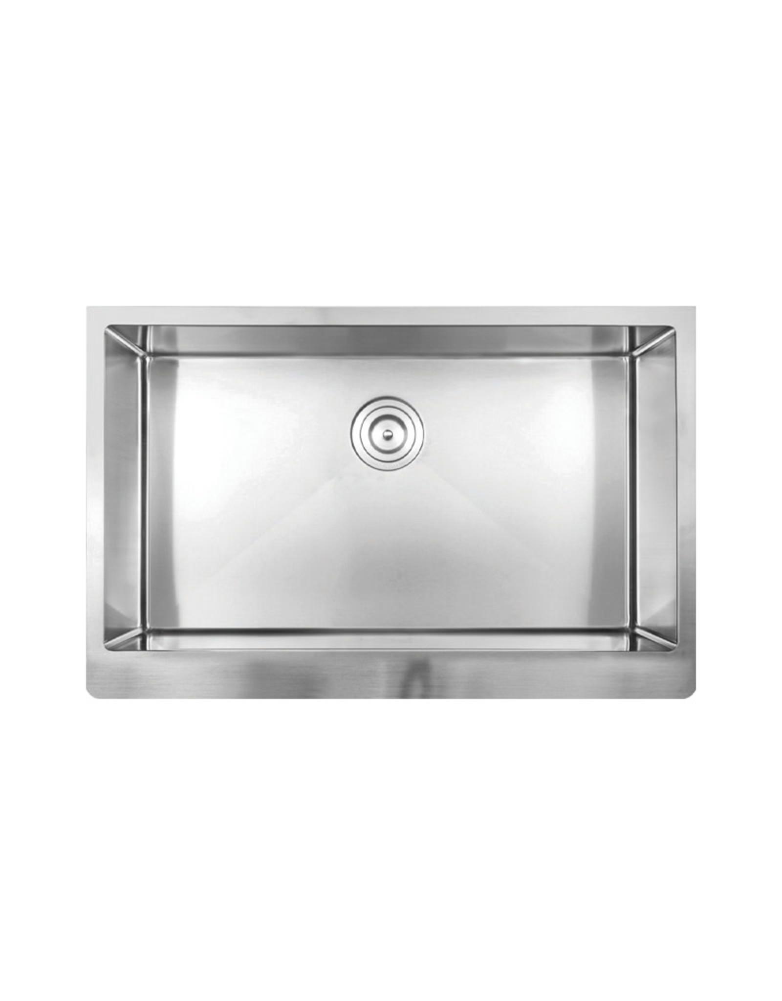 """Vogt Judenburg 16R Apron Front Kitchen Sink 32 ⅞"""" x 20 ¾"""" x 10"""" With Bottom Grid"""