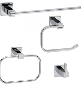 Taymor Taymor Robson Chrome 4pc Accessory Kit