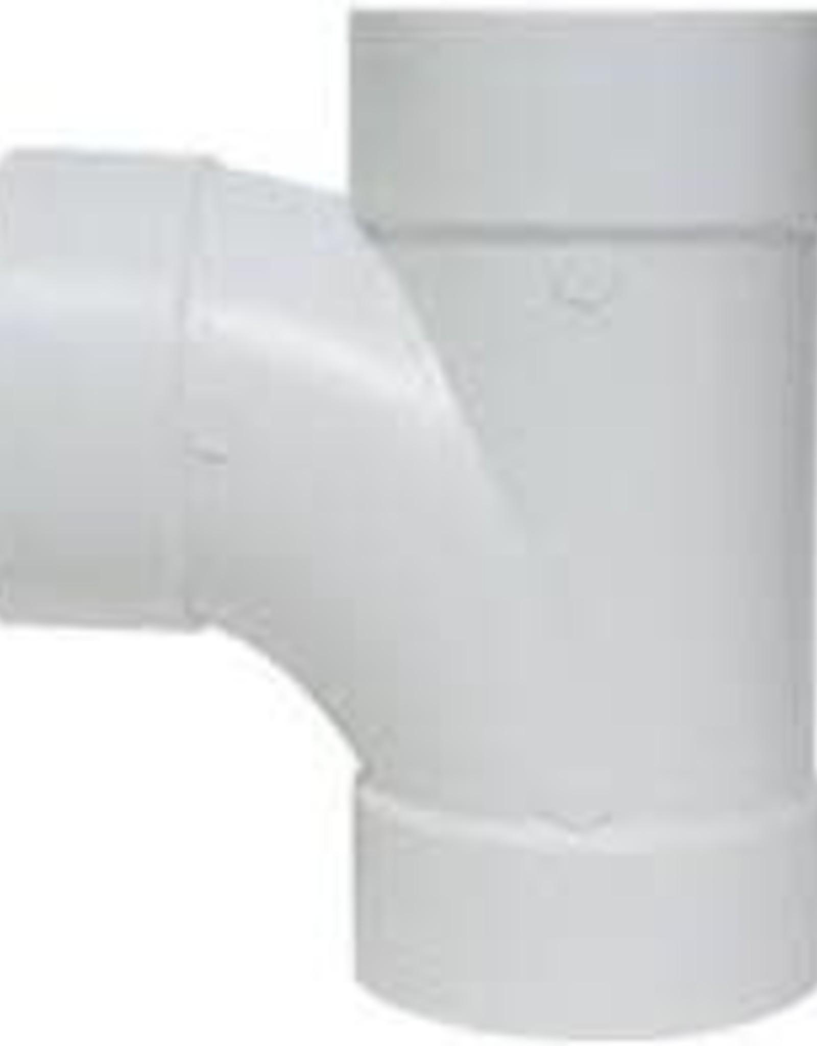 "4"" PVC SEWER SANITARY TEE"