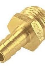 "1/2"" Brass Insert x Male Garden Hose"