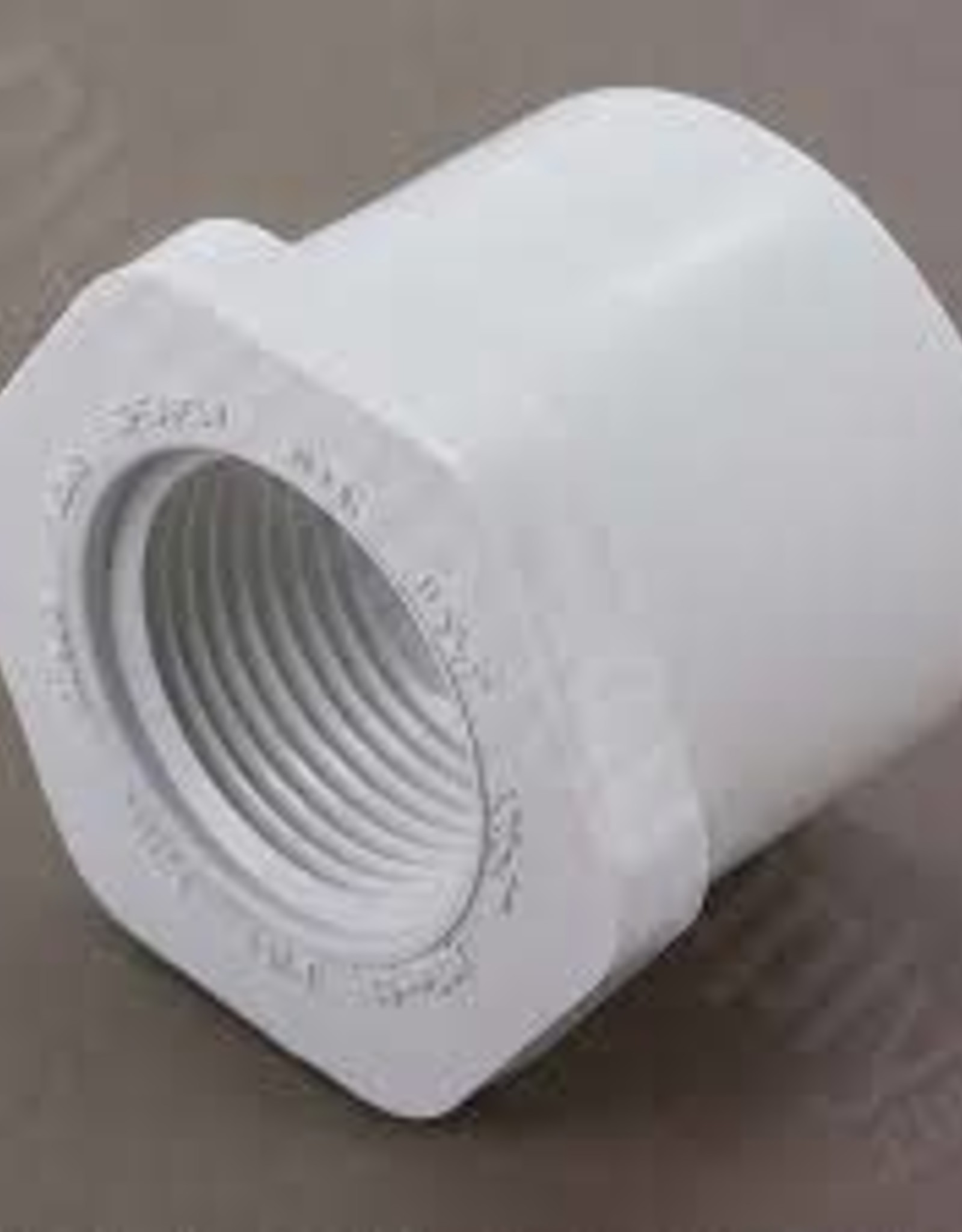 "1"" Socket x 1/2"" FIP PVC Reducing Bushing"
