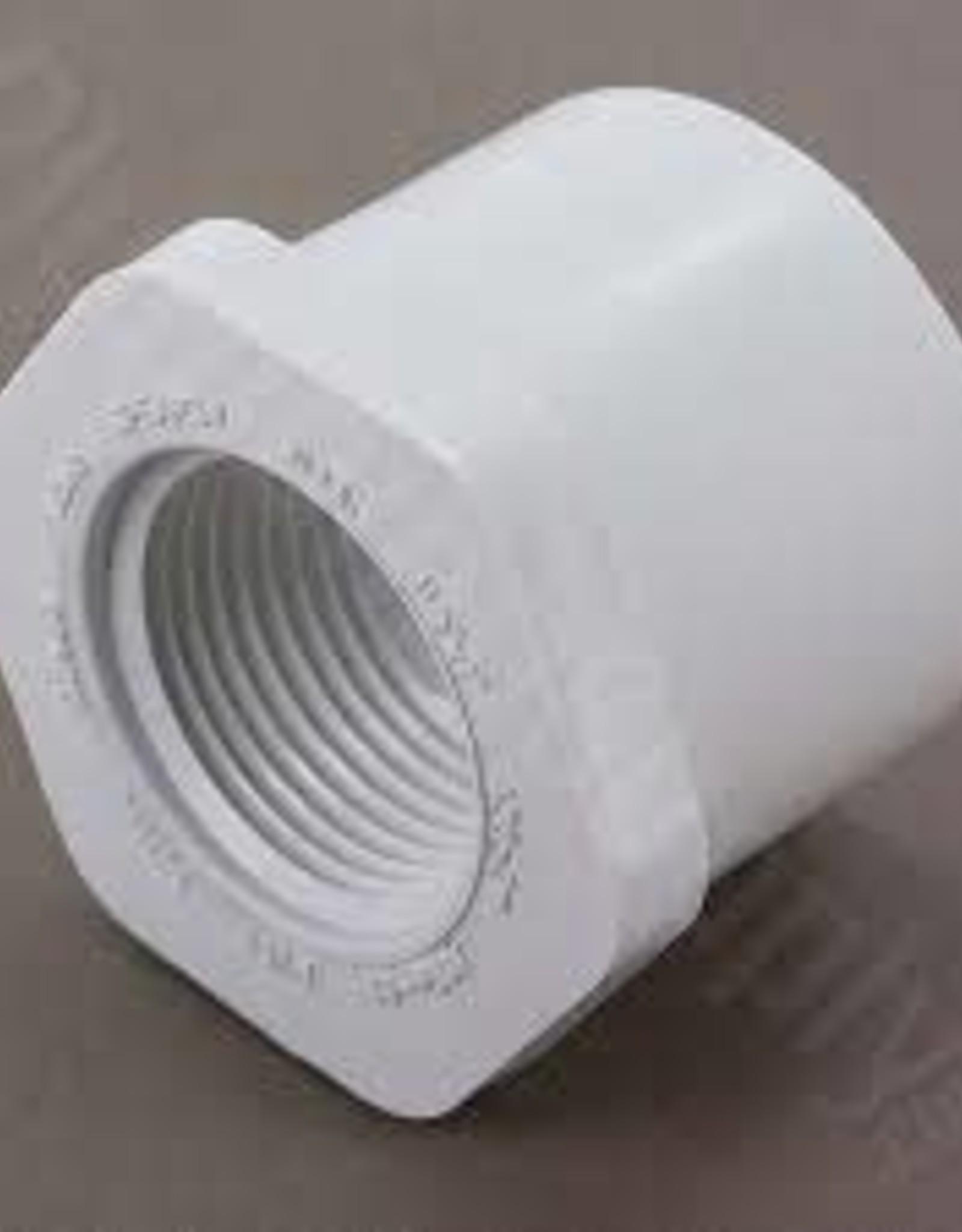 "1-1/2"" Socket x 1"" FIP PVC Reducing Bushing"