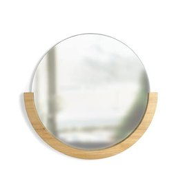 "Umbra Umbra Mira 30"" Natural Mirror"
