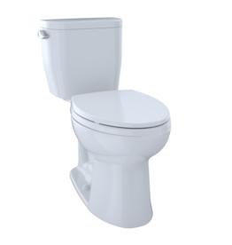 Toto Toto Entrada Right Height Elongated Toilet White