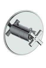 """Vogt Vogt Zehn 3/4"""" Valve and Trim Less Diverter- 4-Spoke Chrome"""