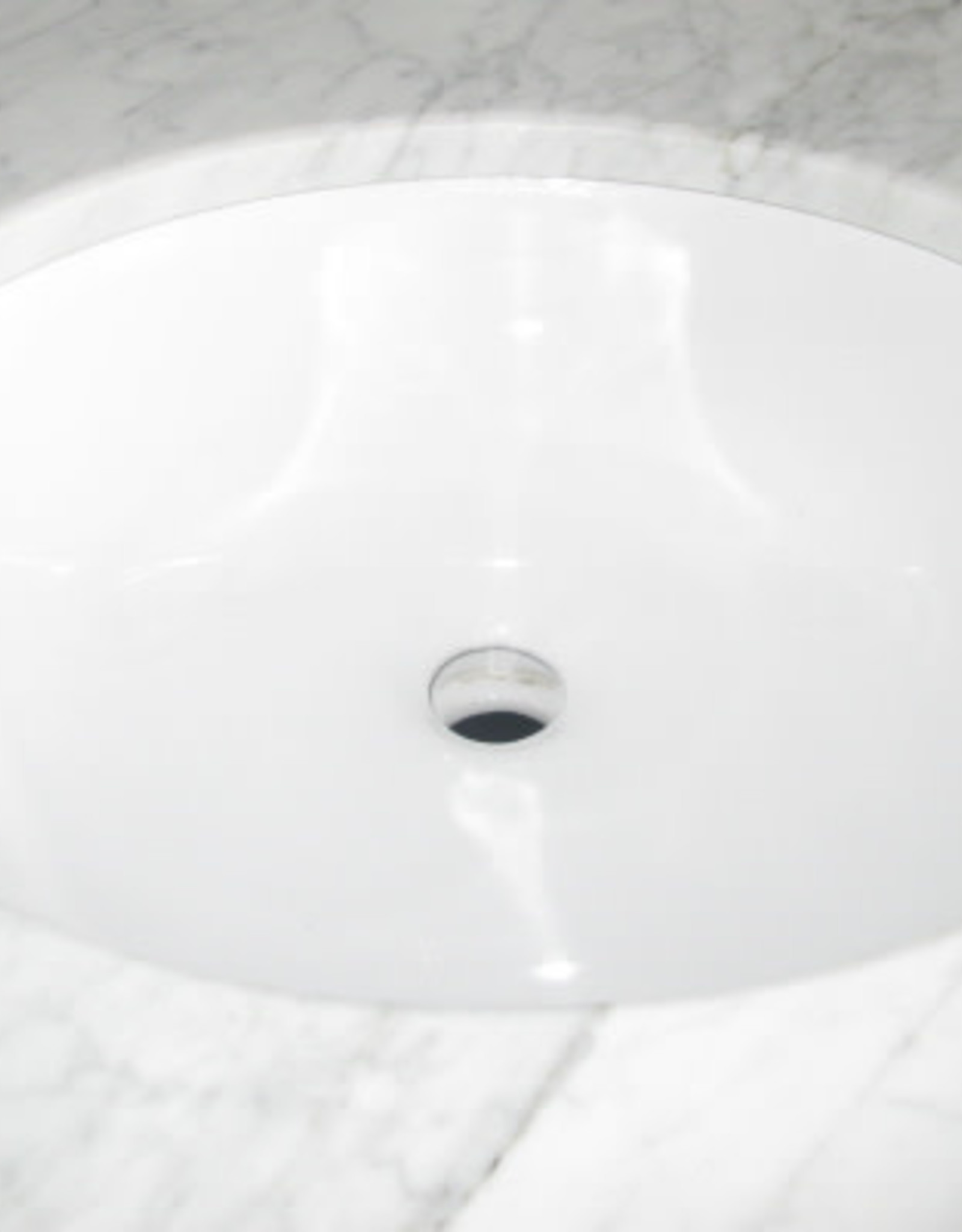 Bosco Bosco 200017 Oval Undermount Ceramic sink