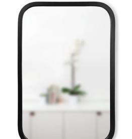 "Umbra Umbra Hub Rectangle Mirror Black 16"" x 24"""