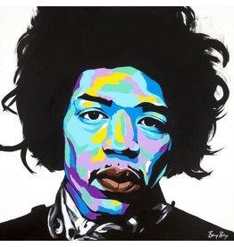 Benny Bing Benny Bing - Jimi Hendrix 30x30