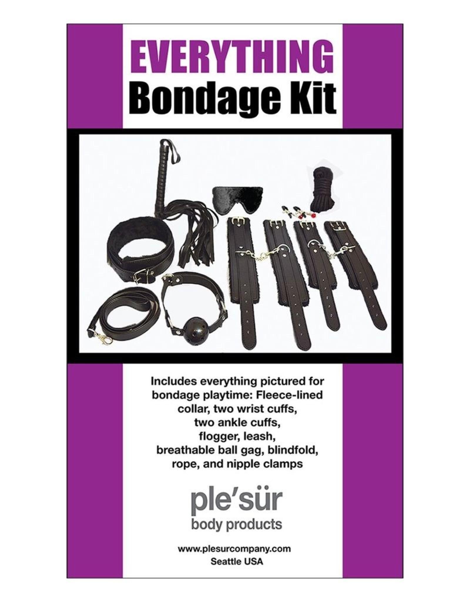 Pleasur Company Everything Bondage Kit