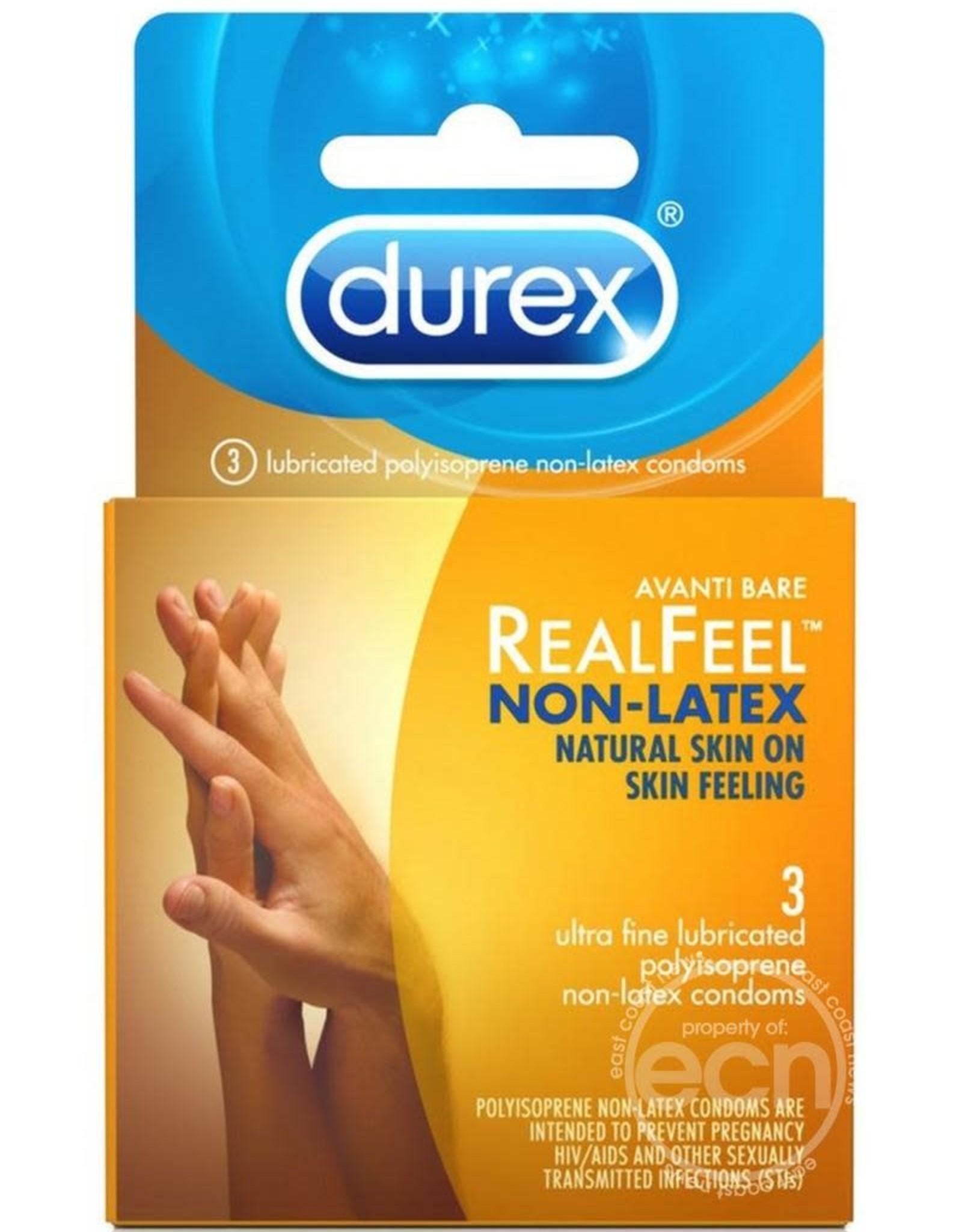 Durex Real Feal Non Latex Condoms