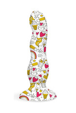 Icon Brands Collage Curvy  Dildo